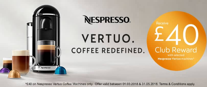 nespresso vertuo club reward