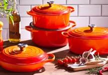 New Le Creuset Signature Cookware - 66