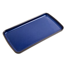 Denby Imperial Blue Rectangular Plate