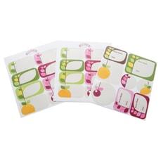 Kilner Fruit Blossom Labels Pack Of 24