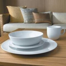 Denby White 16 Piece Box Set