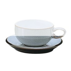 Denby Jet Grey Tea Saucer