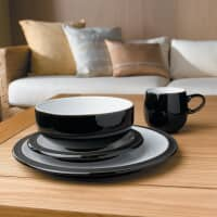 Denby Jet Black 16 Piece Boxed Set