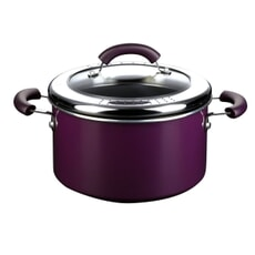 This Morning Aluminium 24cm Stockpot Purple
