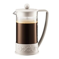 Bodum Brazil French Press Coffee Maker Off White - 8 Cup