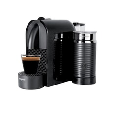 Magimix Nespresso U And Milk Aeroccino Black