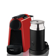 Magimix Nespresso Essenza Red And Aeroccino