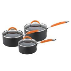 Joe Wicks Easy Release Aluminium Non-Stick - 3 Piece Saucepan