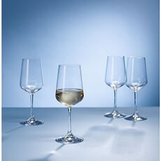 Villeroy and Boch Ovid White Wine Glasses Set Of 4