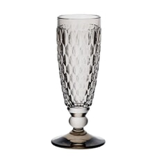 Villeroy and Boch Boston Coloured Champagne Flute Smoke