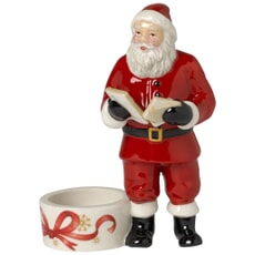 Villeroy and Boch Christmas Light Santa Votive