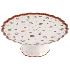 Villeroy And Boch Toys Delight Small Footed Cake Plate