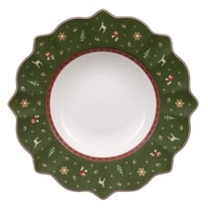 Villeroy and Boch Toys Delight Deep Plate Green