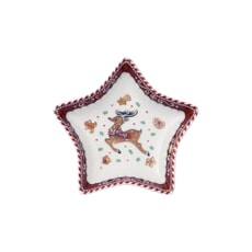 Villeroy and Boch Winter Bakery Delight Small Star Bowl Reindeer