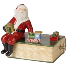 Villeroy and Boch Nostalgic Melody Santa With Book