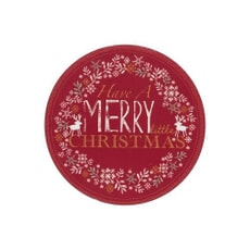 Denby Merry Little Christmas Coasters Set Of 6