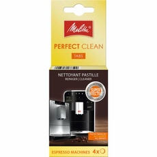 Melitta Perfect Clean Espresso Machine Cleaning Tabs 4 x 1.8g