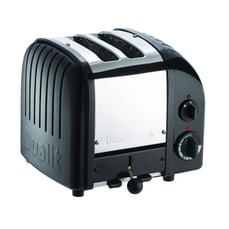 Dualit Classic Vario AWS 2 Slot Toaster Black