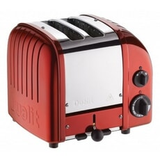 Dualit Classic Vario AWS 2 Slot Toaster Apple Candy Red