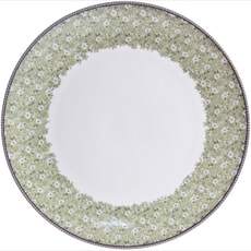 Denby Monsoon Daisy Green Round Platter/Charger