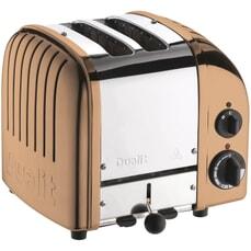 Dualit Classic Vario AWS 2 Slot Toaster Copper