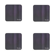 Denby Lifestyle Purple Coasters Set Of 4