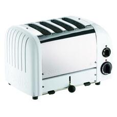 Dualit Classic Vario AWS 4 Slot Toaster White