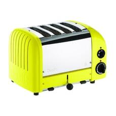 Dualit Classic Vario AWS 4 Slot Toaster Citrus Yellow