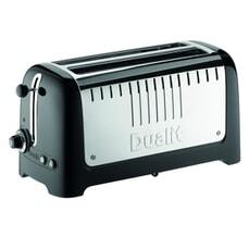 Dualit Lite Long Slot Toaster Black
