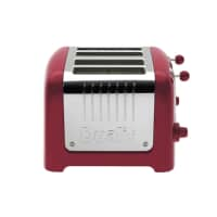 Dualit Lite 4 Slot Toaster Red