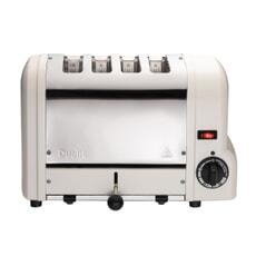 Dualit Origins 4 Slot Toaster Canvas White
