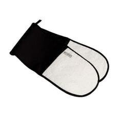 Le Creuset Double Oven Glove Black