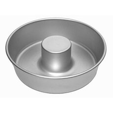 Anodised Bakeware Angel Cake Mould 7in (Flat Bottomed)