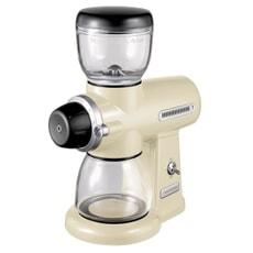 KitchenAid Artisan Coffee Burr Grinder Almond Cream