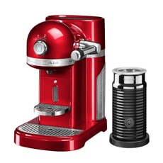 KitchenAid Artisan Nespresso Maker With Aeroccino - Candy Apple