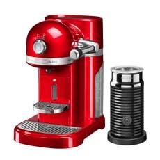 KitchenAid Artisan Nespresso Maker With Aeroccino - Empire Red