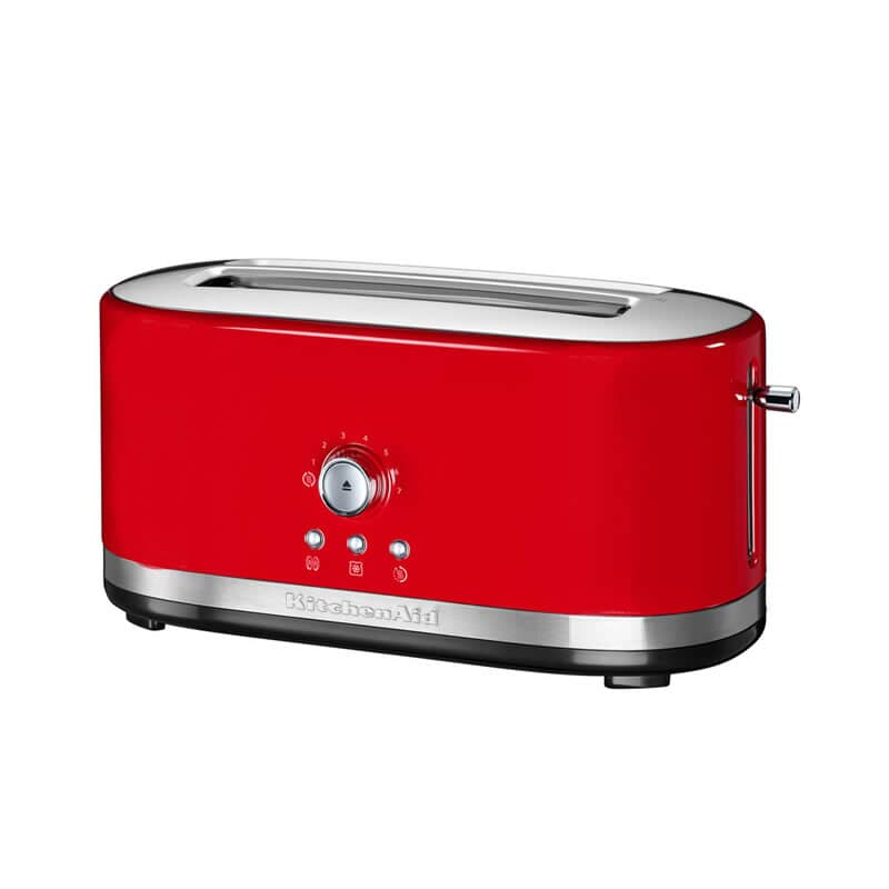 KitchenAid Manual Control 4 Slice Long Slot Toaster Empire Red