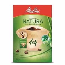 Melitta Filterbags 1 x 4 Natural Pack of 80