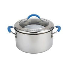 Joe Wicks Quick and Even Stainless Steel Non-Stick - 24cm Stockpot