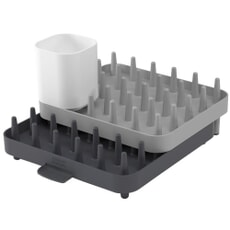 Joseph Joseph Adjustable 3-piece Dishrack Grey