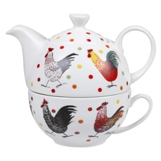 Alex Clark Rooster Tea For One