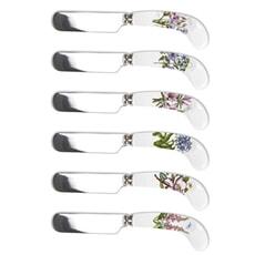 Portmeirion Botanic Garden - Cheese Knife and 6 Spreaders