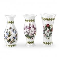 Portmeirion Botanic Garden - Mini Vases Set Of 3
