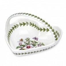 Portmeirion Botanic Garden - Small Heart Shaped Basket