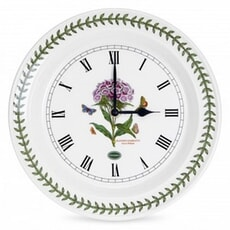 Portmeirion Botanic Garden - Wall Clock Sweet William
