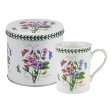 Portmeirion Botanic Garden - Mug And Tin Set Sweet Pea