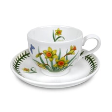 Portmeirion Botanic Garden - Tea Cup and Scr Flower Of Month March