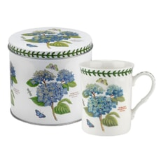 Portmeirion Botanic Garden - Mug And Tin Set Hydrangea