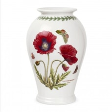 Portmeirion Botanic Garden - 10inch Canton Vase Poppy