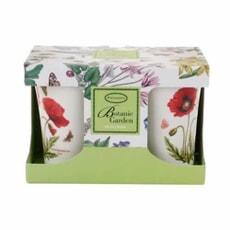 Portmeirion Botanic Garden - Mugs Set 2 Poppy